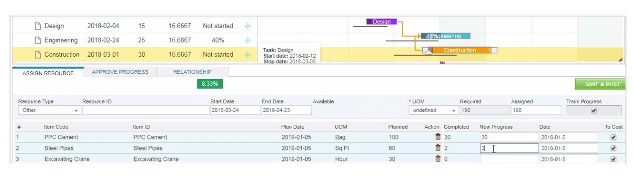 Manage Deliverable Quantities