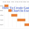 How To Create Gantt Chart In Excel (1)